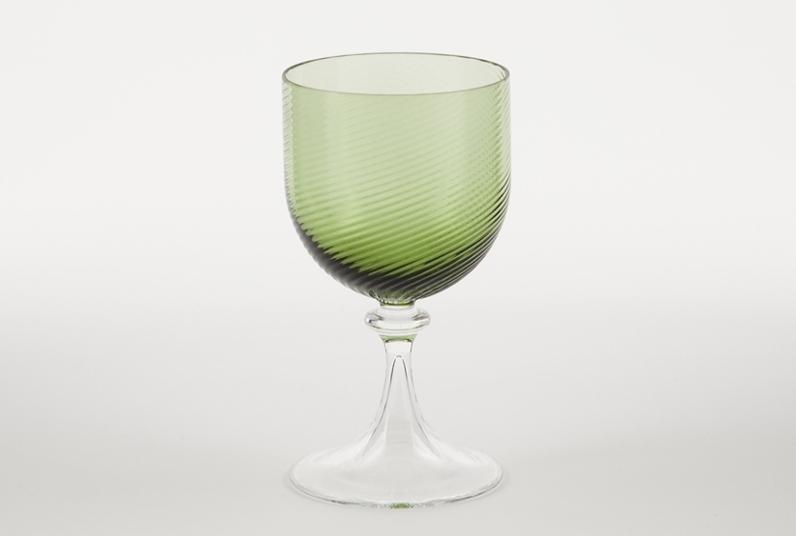 Copa de vino blanco 3 62 verde copas vasos comprar for Copa vino blanco