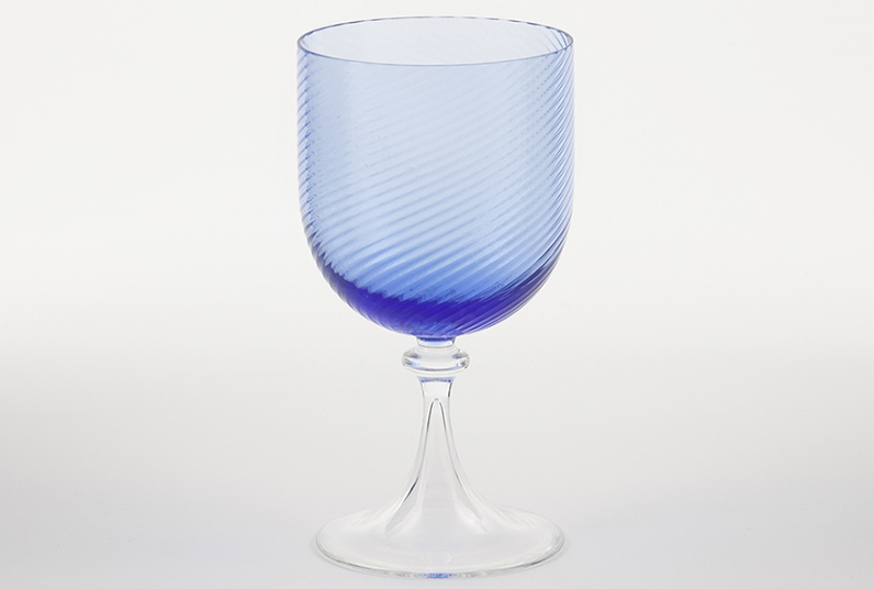 Copa de agua 3 62 azul copas vasos comprar tienda for Copa de agua